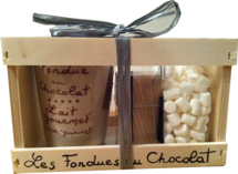 GIFT SET CHOCOLATE FONDUE